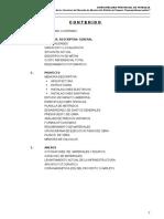 Memoria Descriptiva General Mercado de Abastos Pampas