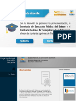 Programa Estatal de Titulación Docente