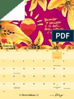 Calendário Canson Eaibeleza 2016