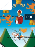 Analisis de Leyes Conexas - DereDERECHO MERCANTIL Icho Mercantil i