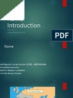 Rome Intro