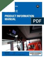 Manual MTM800 English