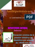 Clase Antihipertensivos 1parte