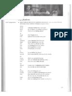 adj and verb + prep