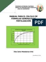 Manual Fertilizantes