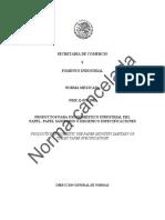 NOM_NMXQ0231982-Especific Papel Sanitario