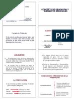 Derecho Obligaciones 2x4