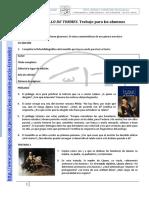EL LAZARILLO de TORMES-Trabajo Para Los Alumnos
