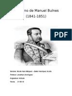 Gobierno de Manuel Bulnes