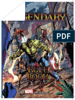 Marvel Legendary Deckbuilder Rulebook