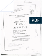 P-38L-1 Erection Maintenance Manual OCR