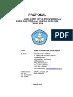 Proposal MGMP Sejarah 2016