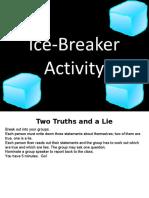 EDT 8490 Week 3 Ice Breaker