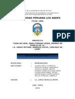 Proyección Social Universidad Psicologia 07-07-2016