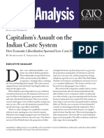 Capitalism's Assault on the Indian Caste System