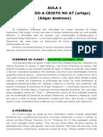 1. O Pentateuco - Material de apoio.doc