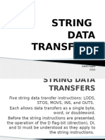 String Data Transfers