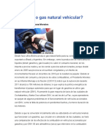 Gasolina o Gas Natural Vehicular