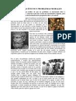 Problemas Éticos y Problemas Morales