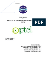 PTCL  Project(strategic management)
