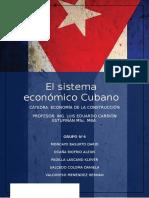 Sistema Economico Cuba