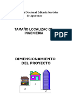 Tamaño Localizacion Ingenieriaa