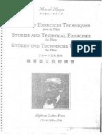 Moyse Etudes Et Exercices Techniques