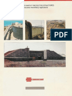 Reinforced Earth-Protective Structures for Industrial and Military Applications