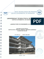 22919_2015_26915_Estudio Patologico Edificio Hospital Manuel Amador Guerrero I Parte