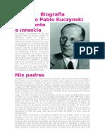 Biografia Kuczynski