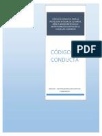 Código de Conducta Para La Protección Integral de Los Niños