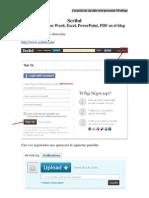 Scribd 2010 1ª Clase de PDF en el blog