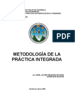 Metodlogia Practica Integrada USAC