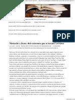 Paulo Queiroz » Nietzsche e Jesus_ Dois Extremos Que Se Tocam_ _(Revisto_)