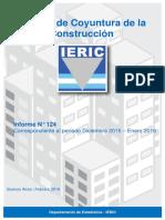 Informe de Coyuntura de la Industria de la construcción N124