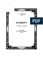 Goedicke Trumpet Concerto PS