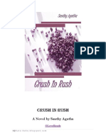 Crush in Rush by Santhy Agatha