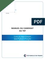 Manuel Candidat TEF 02 2016
