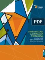 Agenda Nacional de cooperación internacional del Ecuador