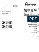 Deh-x7550sd Deh-x8550bt Operating Manual Eng-esp-por
