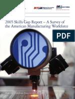 2005 Skills Gap Report