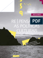 UNESCO Publicacao Repensar Politicas Culturais