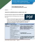 JUANA ZARUMA- Actividad de Aprendizaje Unidad 3 Requisitos e Interpretacion de La Norma ISO 90012008