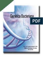 Genetica bacteriana 2016