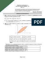 Práctica Calificada 4 Cálculo de Una Variable 2015-1