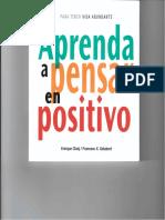 Aprenda a Pensar en Positivo