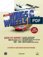 Wings and Wheels Day at Queen City Airport
