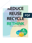 The 4 Rs of Sustainability