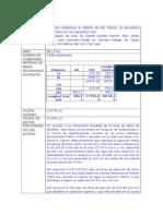 Ejemplo Descripción Informe
