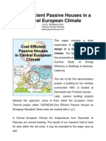1998 - 2000 Paper on Passive House State of the Art (Wolfgang Feist at ACEEE)
